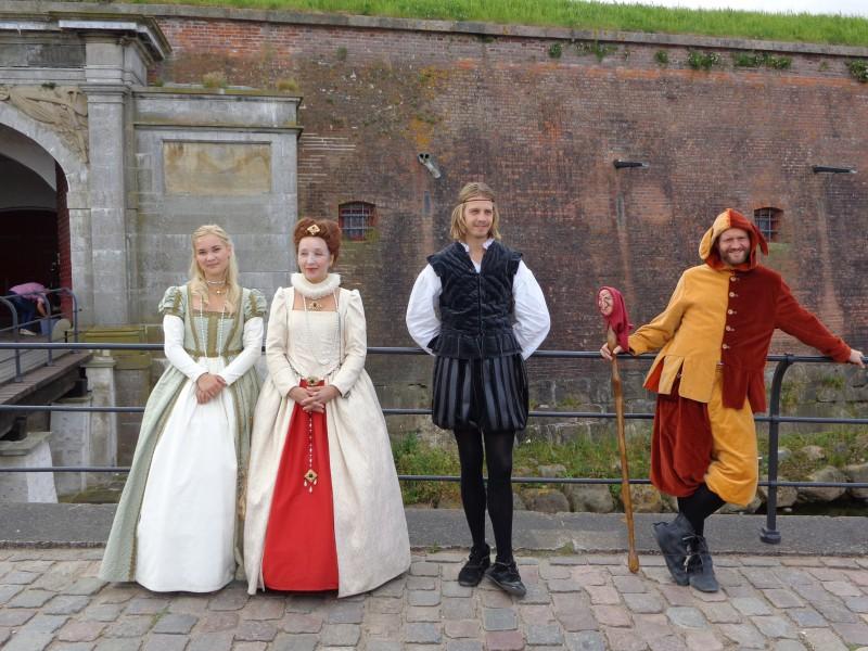 """Дворецът Кронборг, опоетизиран от Шекспир като Елсинор в """"Хамлет"""""""