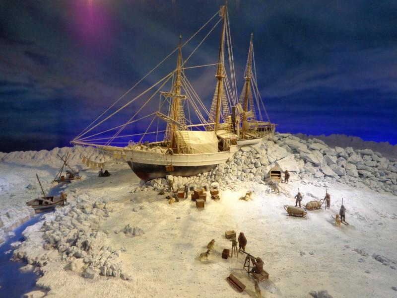 """Полярният кораб """"Фрам"""" в Осло"""