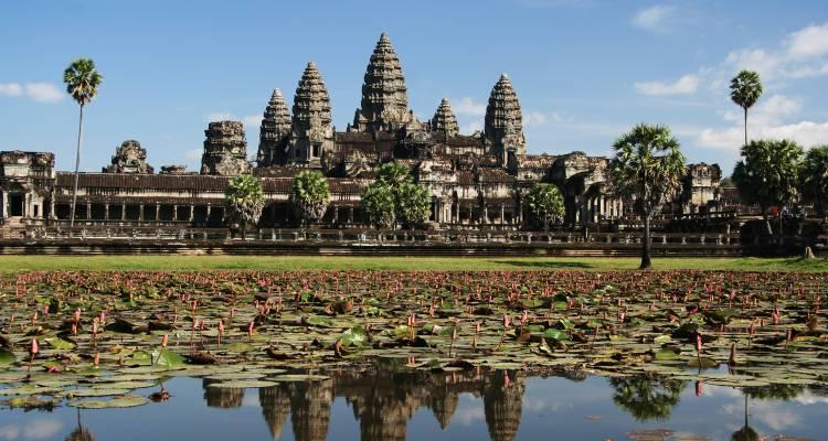 Ангкор Ват - възроденият храмов град в Камбоджа - 1