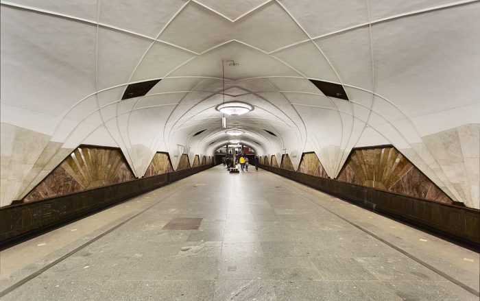 Най-зашеметяващите метростанции в Москва - 7