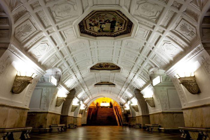 Най-зашеметяващите метростанции в Москва - 8