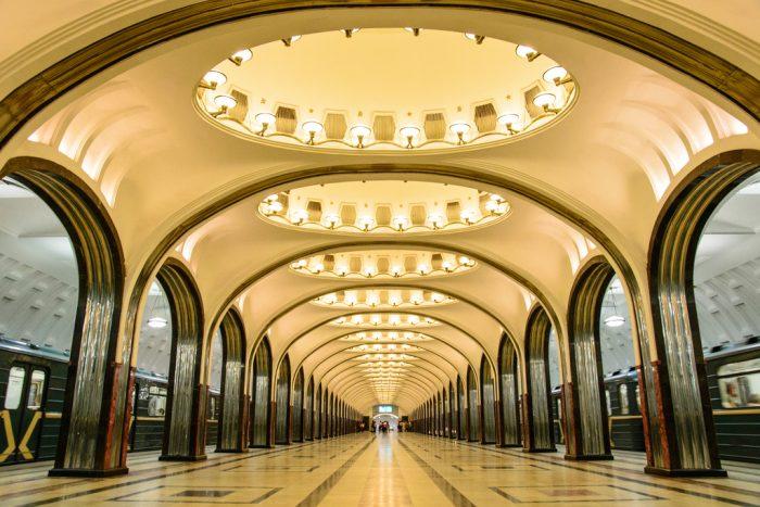Най-зашеметяващите метростанции в Москва - 10