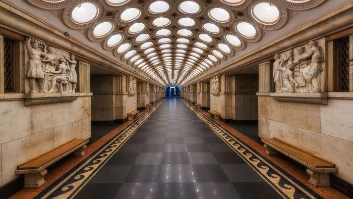 Най-зашеметяващите метростанции в Москва - 11