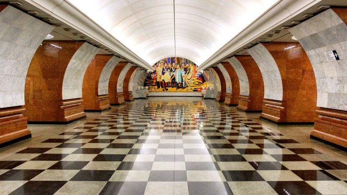 Най-зашеметяващите метростанции в Москва - 2