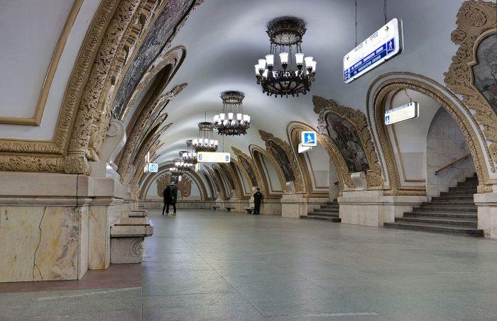 Най-зашеметяващите метростанции в Москва - 4