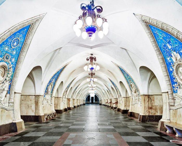 Най-зашеметяващите метростанции в Москва - 5