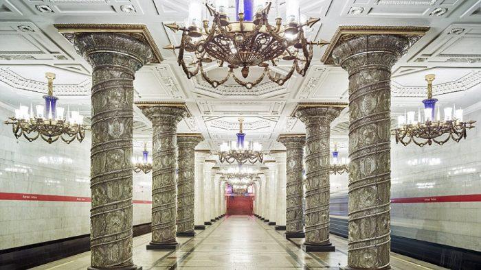 Най-зашеметяващите метростанции в Москва - 6
