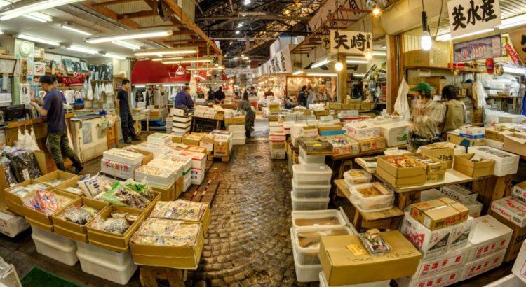 Пазарът за риба и морски дарове  в Токио – скъпото удоволствие