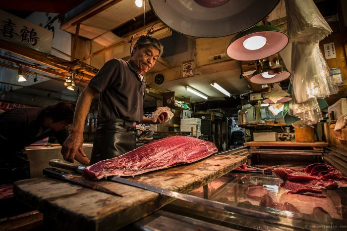 Пазарът за риба и морски деликатеси в Токио скъпото удоволствие - 2