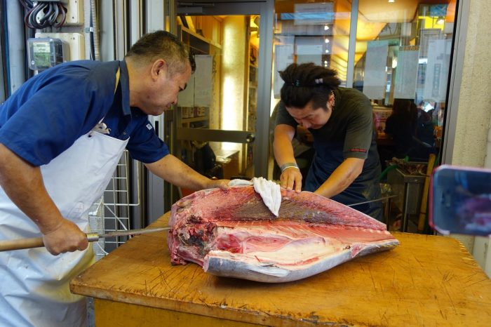 Пазарът за риба и морски дарове  в Токио – скъпото удоволствие 5