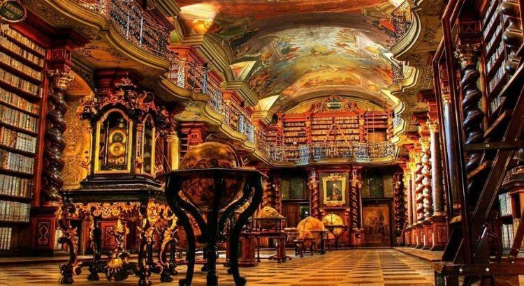 Клементиум – най-красивата библиотека в света