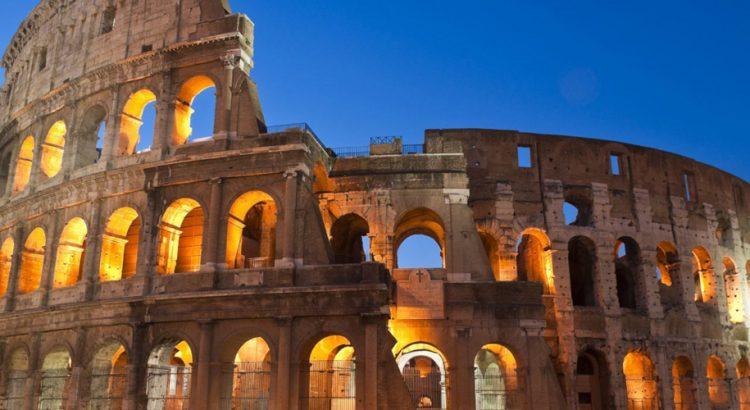 Качете се на покрива на Колизеума