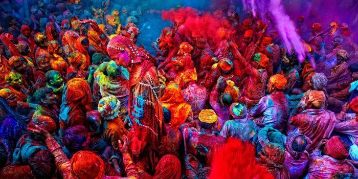 Цветната феерия в Индия - 1