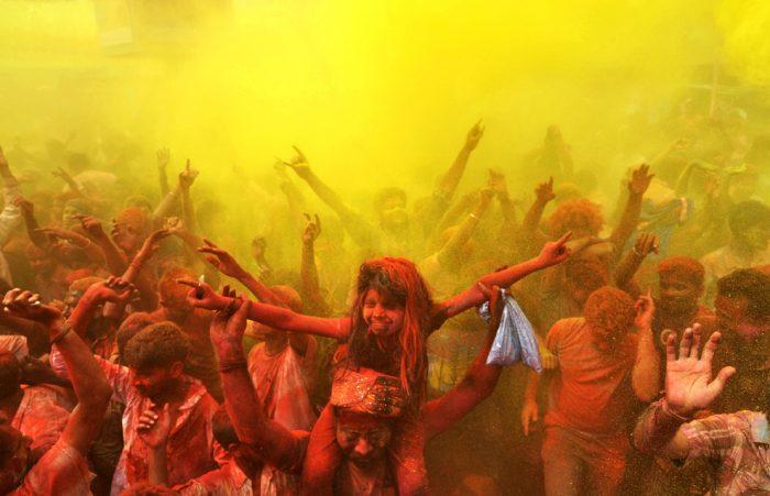 Цветната феерия в Индия - 5