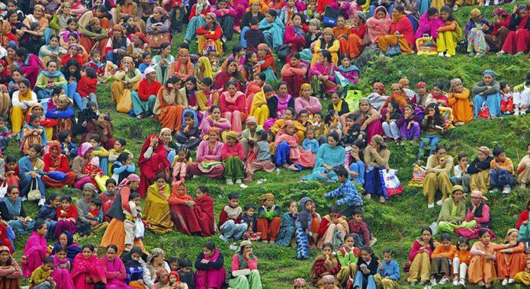 Цветната феерия в Индия