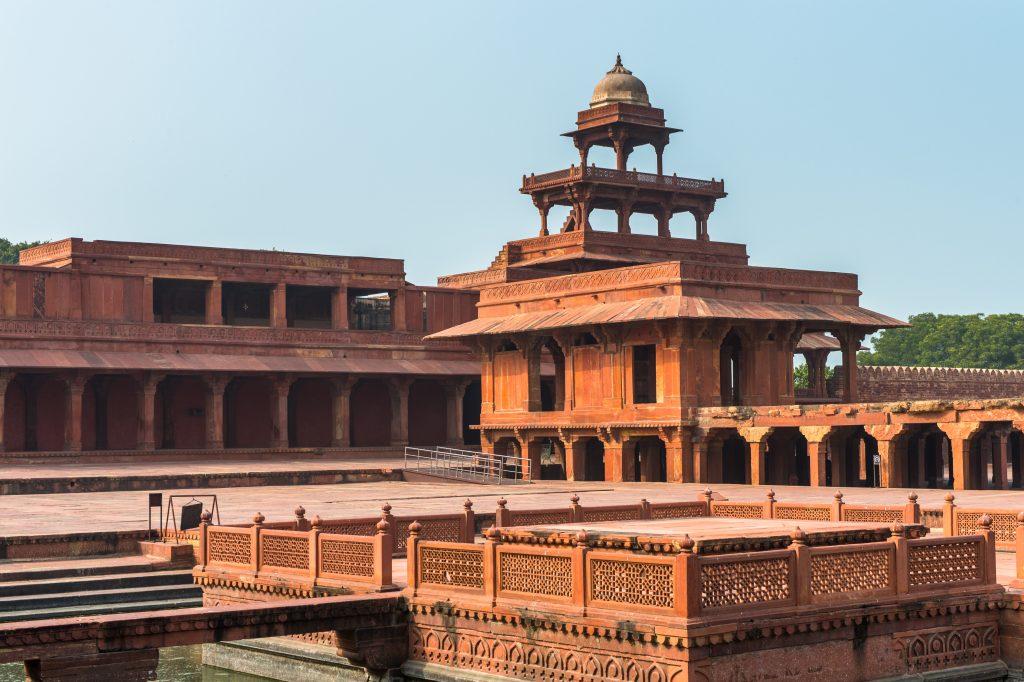 Древният град Фатехпур Сикри 7