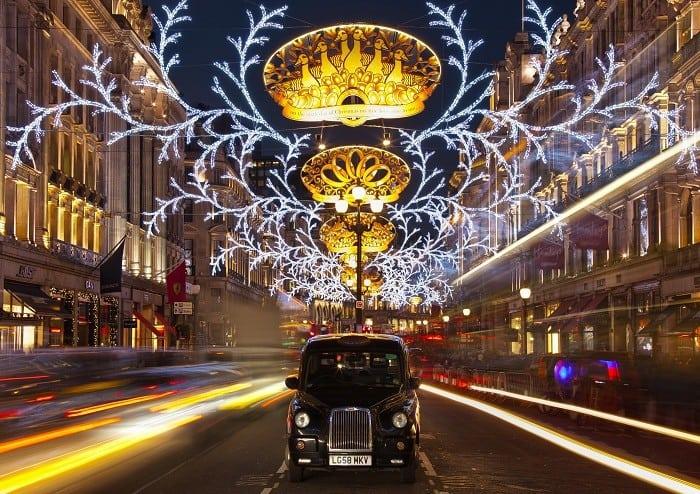 Лондон – градът с най-красива коледна украса -1