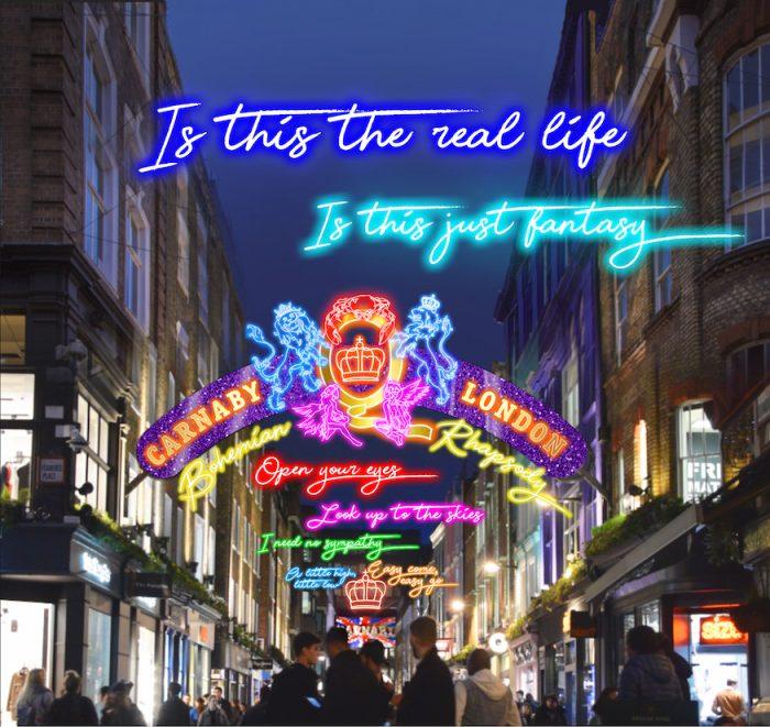 Лондон – градът с най-красива коледна украса 3