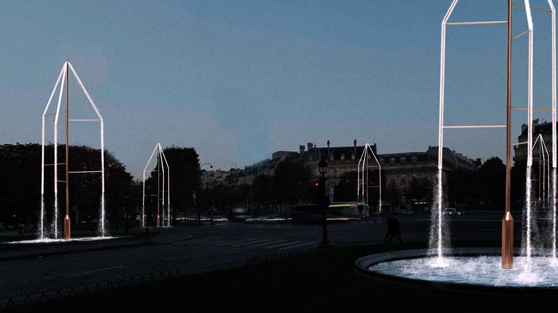 Кристалните фонтани на Шанз-Елизе 4