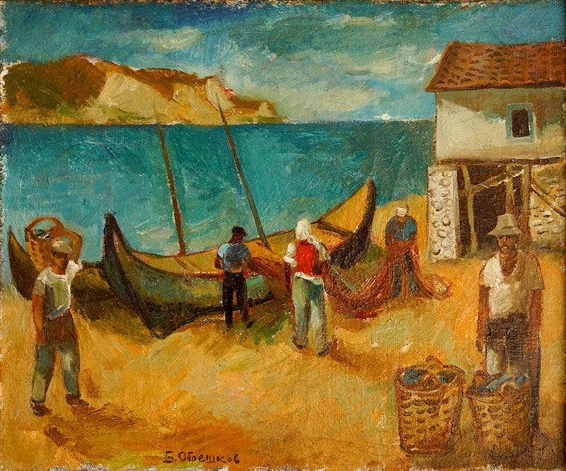 Българска живопис в Париж 3