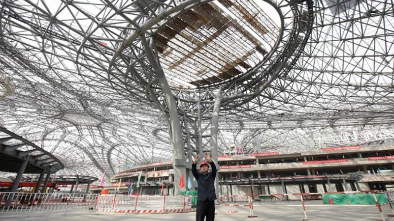Пекин ще открие през октомври най-голямото летище на планетата 1