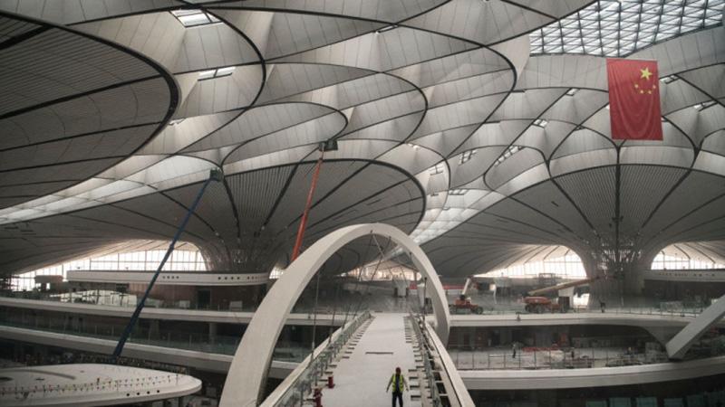 Пекин ще открие през октомври най-голямото летище на планетата 3