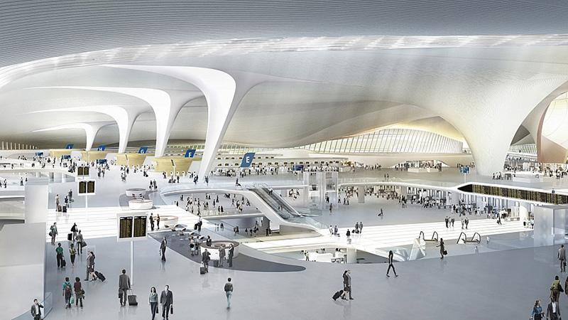 Пекин ще открие през октомври най-голямото летище на планетата 2