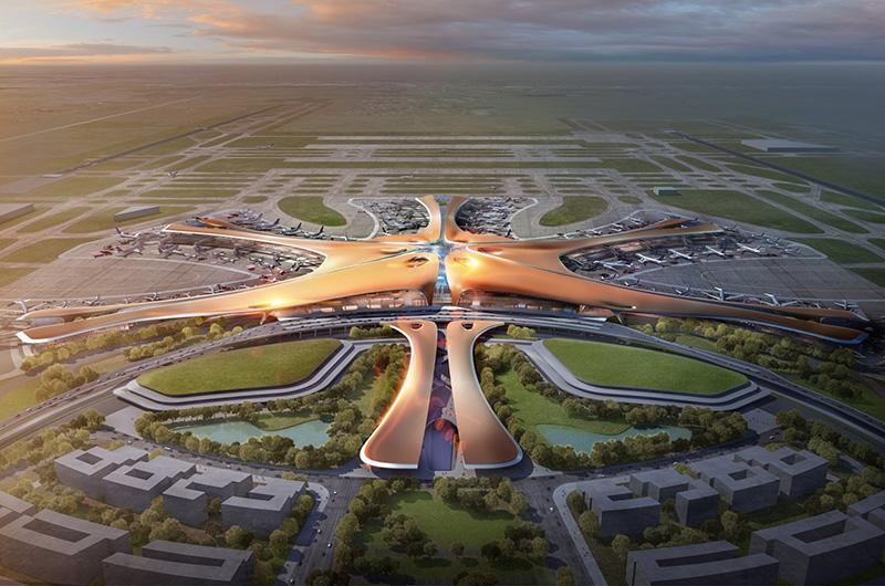 Пекин ще открие през октомври най-голямото летище на планетата 4