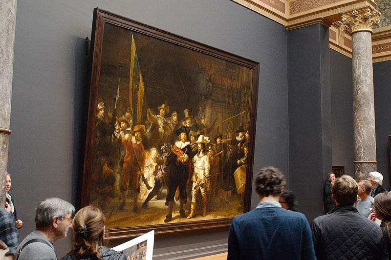 """Рембранд и реставрирането на неговата """"Нощна стража"""" 2"""