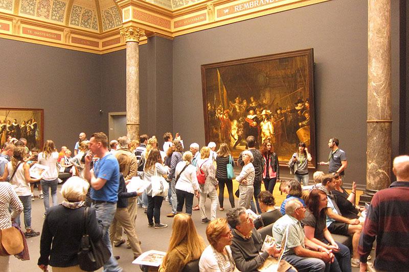 """Рембранд и реставрирането на неговата """"Нощна стража"""" 4"""