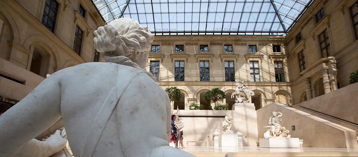 Леонардо да Винчи в Лувъра