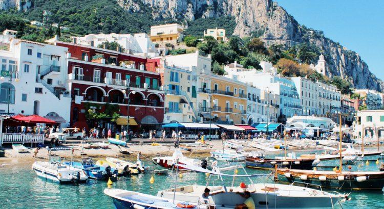 Прекрасният залив на Неапол