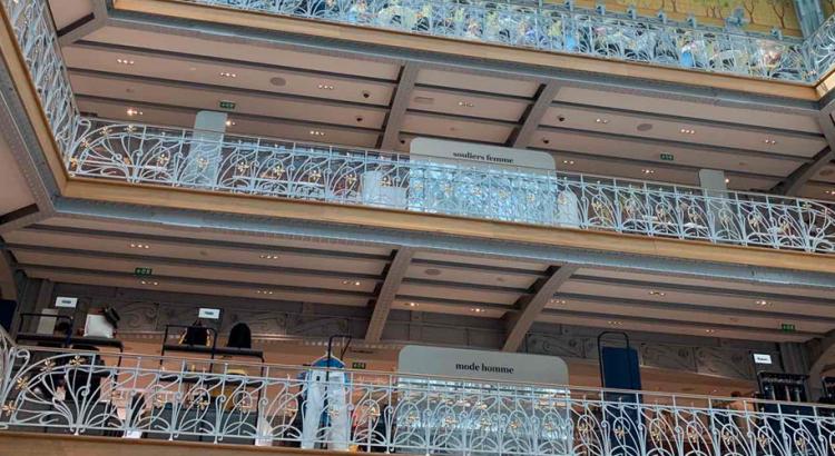 Самаритен – един от легендарните парижки магазини, отвори врати след дълга реконструкция