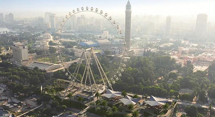 Окото на Кайро – петото по големина в света виенско колело