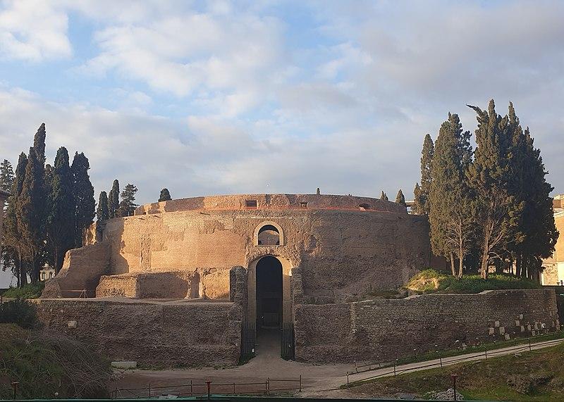 Гробницата на първия римски император отваря след 13-годишна реставрация 4