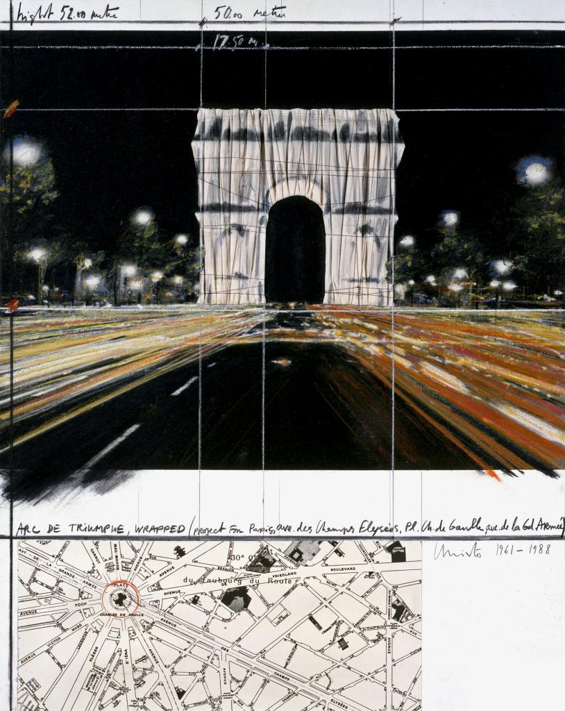 Опаковат Триумфалната арка в памет на Христо Явашев 1