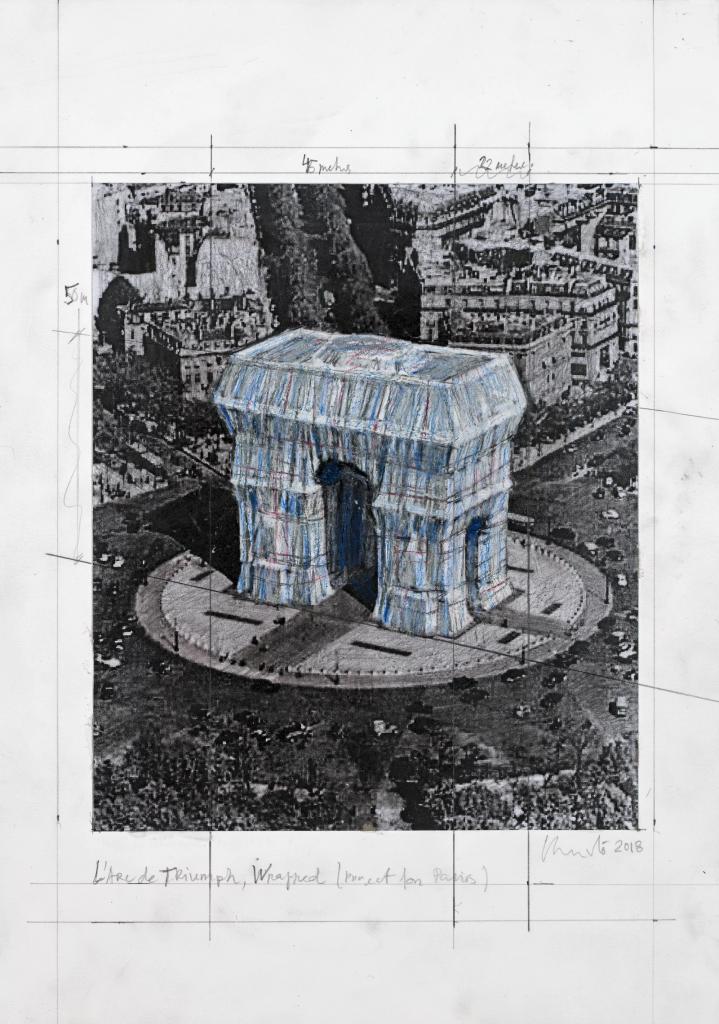 Опаковат Триумфалната арка в памет на Христо Явашев 2